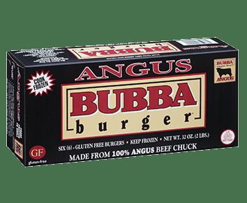 Angus Beef BUBBA burger