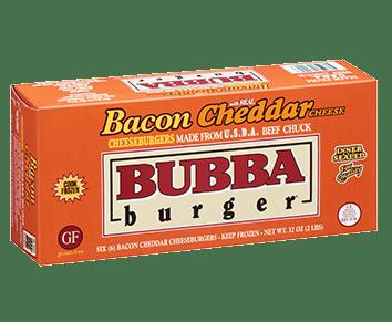 Bacon Cheddar BUBBA burger