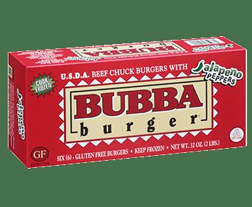 Jalapeño BUBBA burger
