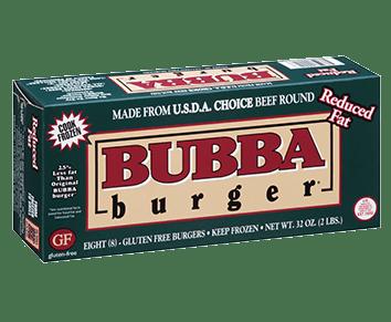Reduced Fat BUBBA burger