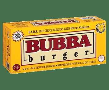 Sweet Onion BUBBA burger