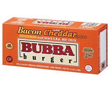 BUBBA Bacon Cheddar