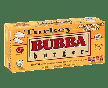 Turkey Monterey BUBBA burger
