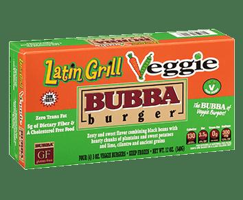 Latin Grill Veggie BUBBA burger