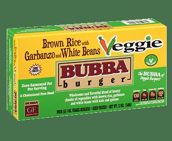 Veggie with White Beans BUBBA burger