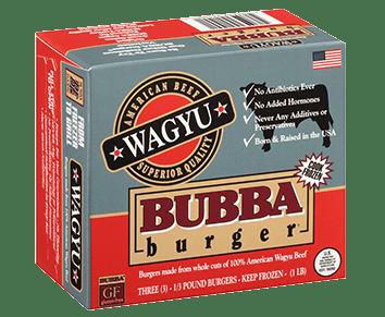 Wagyu BUBBA burger
