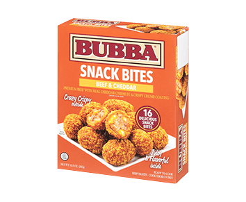 Cheddar and Beef Snack Bites