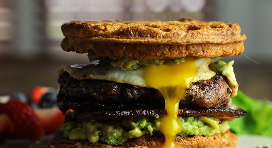 Just Add Waffles recipe bubba burger food best