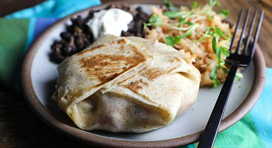 Fold Your Burrito Package recipe bubba burger food best