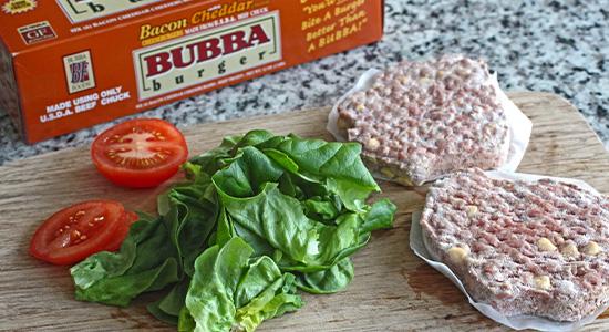 Heat Up recipe bubba burger food best