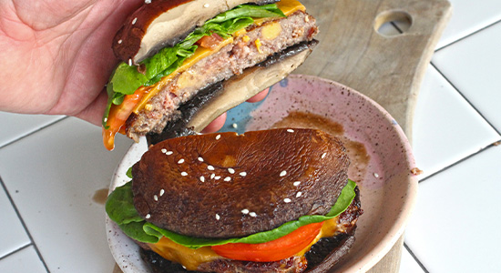 Plate and Serve recipe bubba burger food best