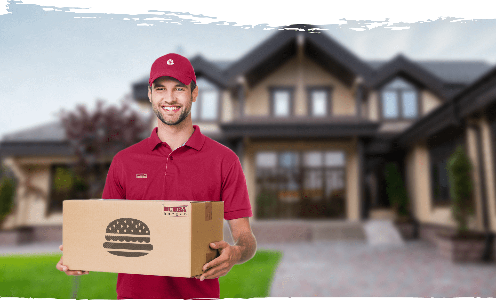 delivery background image